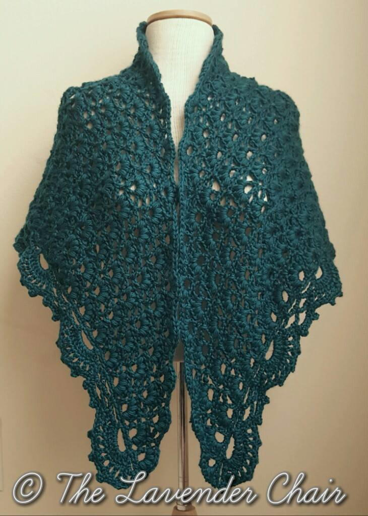 Free Download Crochet Patterns Baby Shawls : Daisy Fields Shawl AllFreeCrochet.com