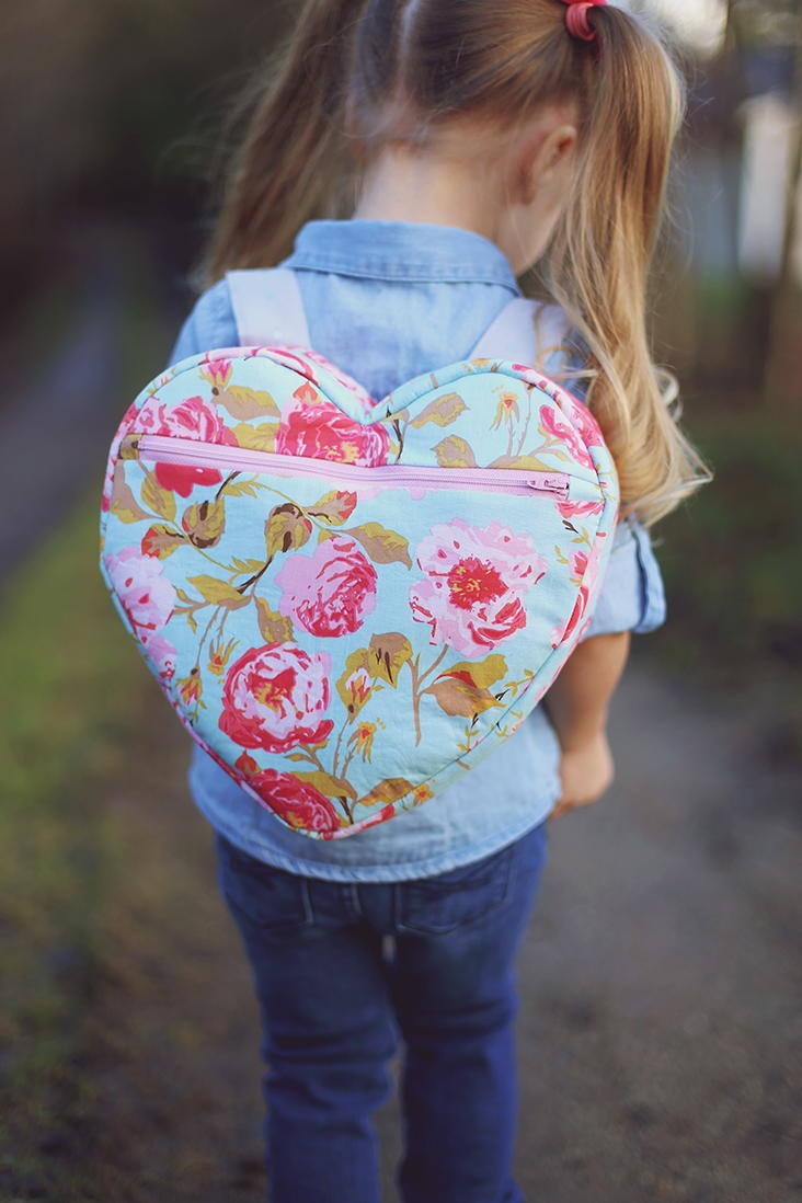 I Heart School Backpack Pattern Allfreesewing Com
