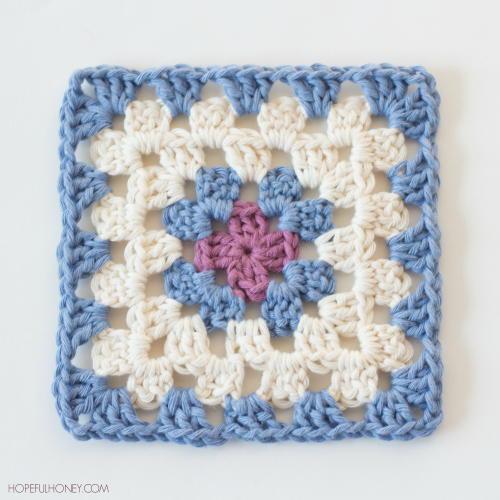 Easy Classic Granny Square | AllFreeCrochet.com