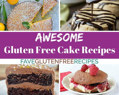 25 Awesome Gluten Free Cake Recipes