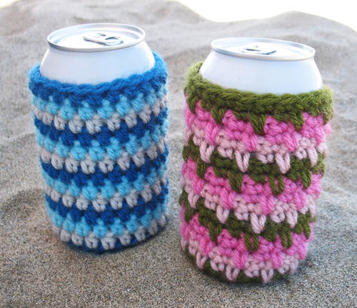 Cool Crochet Can Cozies