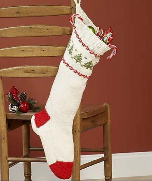 Knit Stocking for Christmas