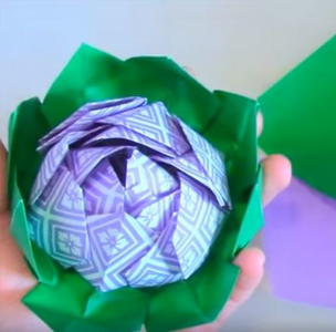 How to Make Amazing Origami Lotus   DIY Paper Crafts   Paper ...   300x304