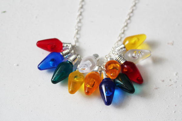 Dazzling Lights Diy Necklace Allfreejewelrymaking Com