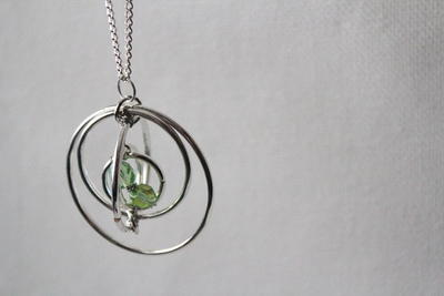 Time Turner Pendant DIY Necklace