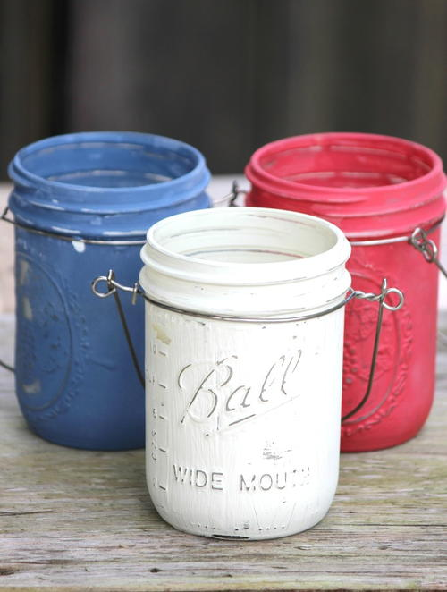 DIY Mason Jar Citronella Candles
