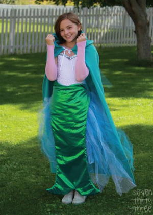 Enchanting Mermaid Tail Tutorial