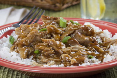 Slow Cooker Bourbon Chicken