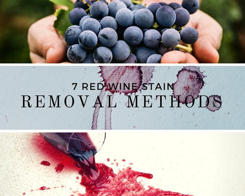 7 Red Wine Stain Removal Methods