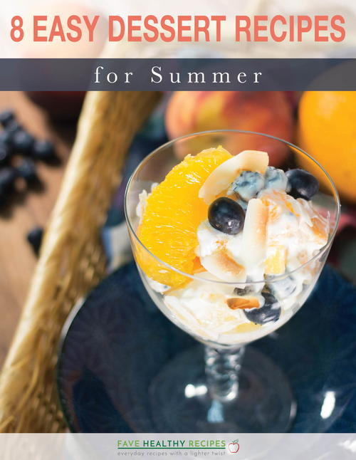 8 Easy Dessert Recipes For Summer Free eCookbook
