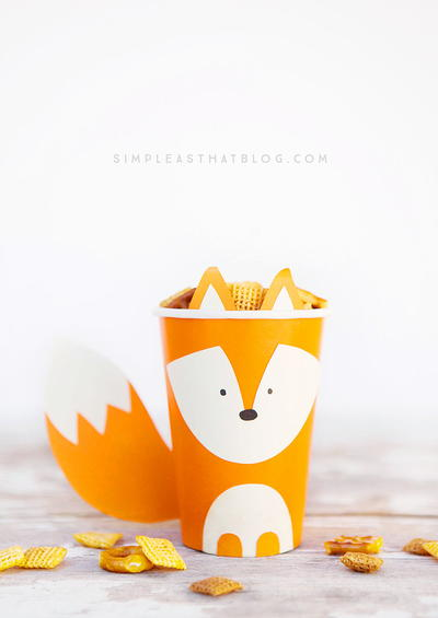Woodland Buddies Paper Cups
