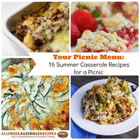 Your Picnic Menu: 16 Summer Casserole Recipes for a Picnic