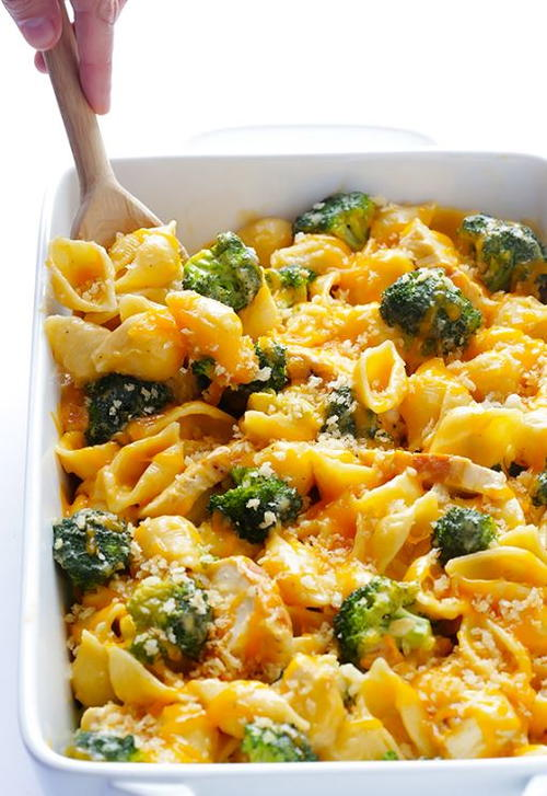 Broccoli Chicken Mac  Cheese