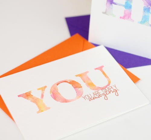Simply Stunning Watercolor Cards