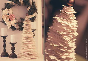 Paper DIY Christmas Tree