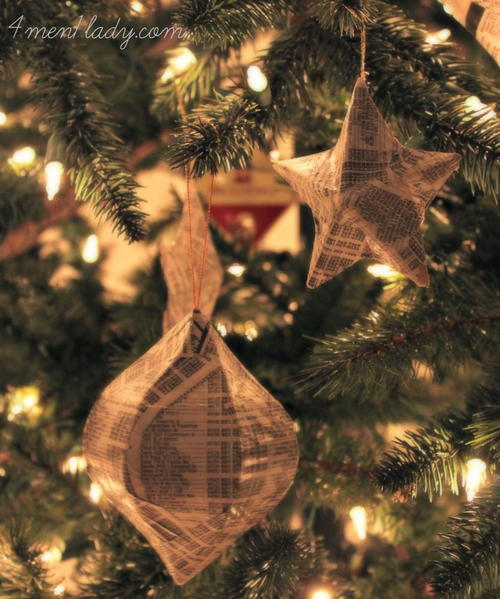 Whimsical DIY Christmas Ornaments