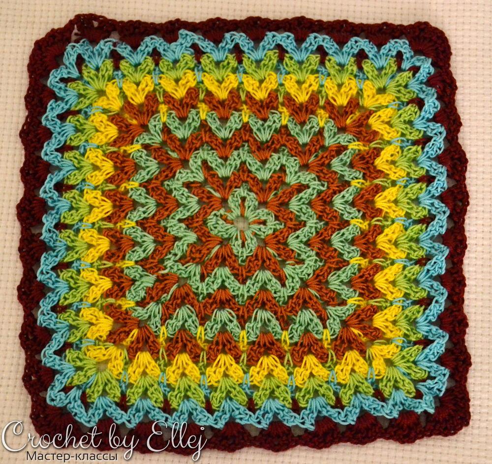 Bargello Crochet Afghan Block Allfreecrochet Com