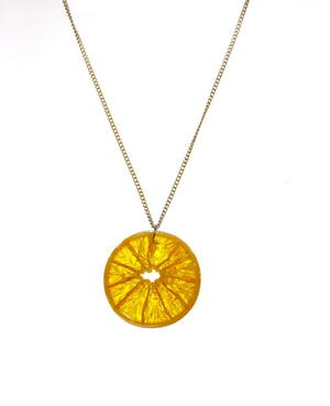 Delicious Dehydrated Fruit DIY Necklace