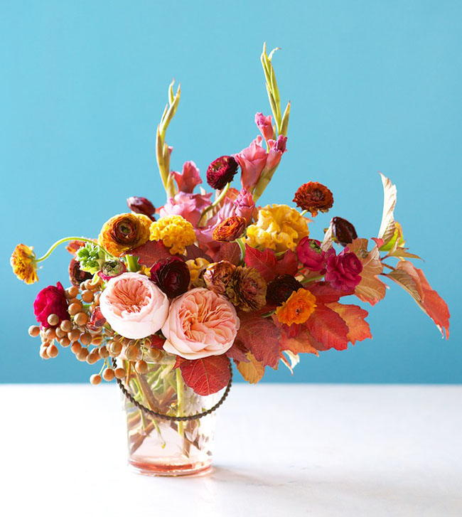 Fabulous fall floral centerpiece allfreediyweddings