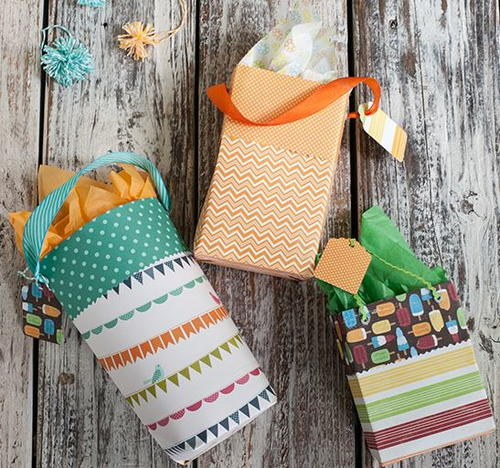 Party Time DIY Gift Bags