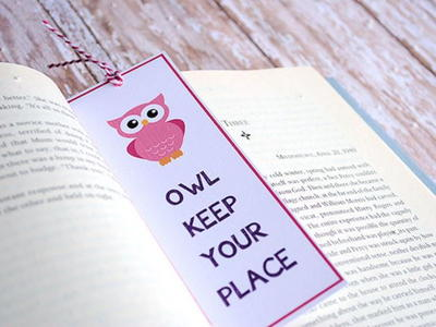 Owl Keep Your Place Printable Bookmark