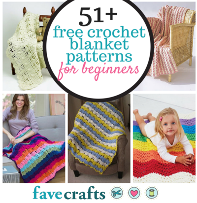 76751d32a4c3 51 Free Crochet Blanket Patterns for Beginners