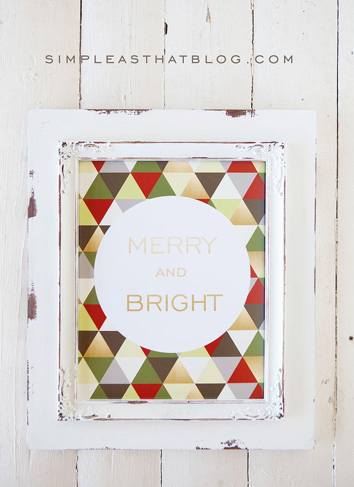 Christmas Decor For Large Wall : Festive diy wall decor favecrafts