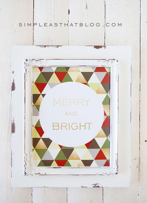 Festive DIY Wall Decor