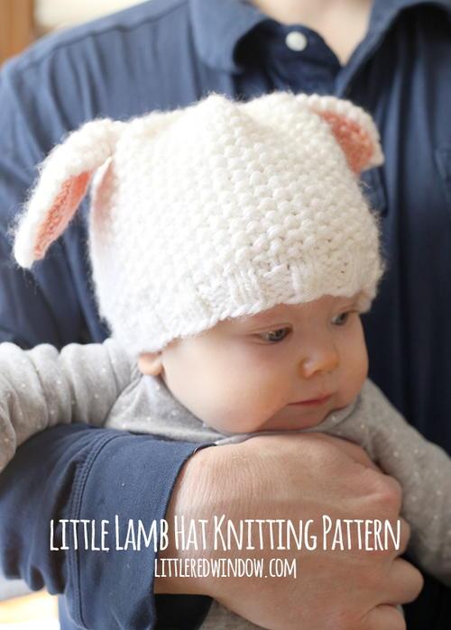 Little Lamb Baby Hat  374289623b4