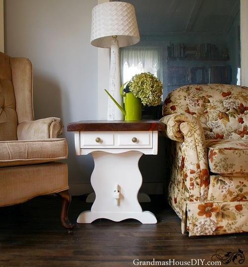 Sweet Country End Tables Makeover