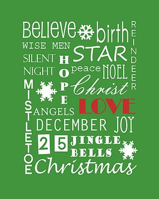 Very Merry Christmas Printable