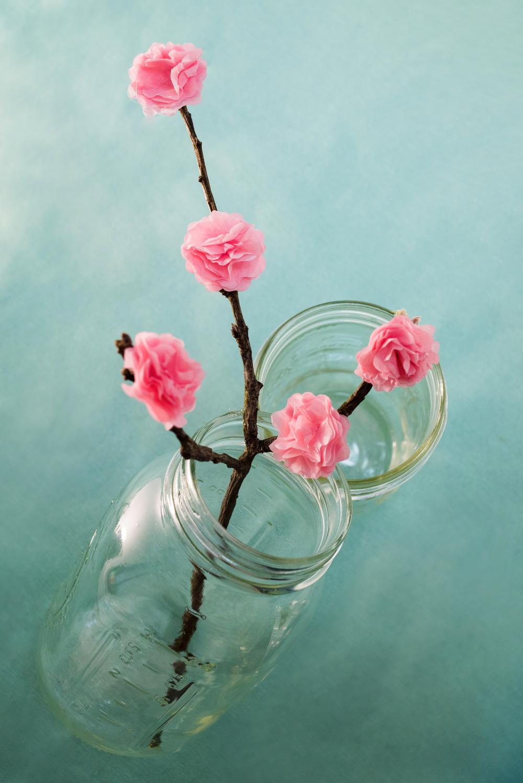 Cherry Blossom Tissue Paper Flower Favecrafts Com