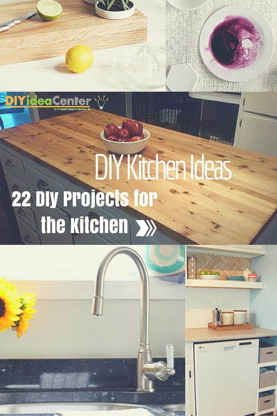 DIY Kitchen Ideas 22 DIY Projects for the Kitchen