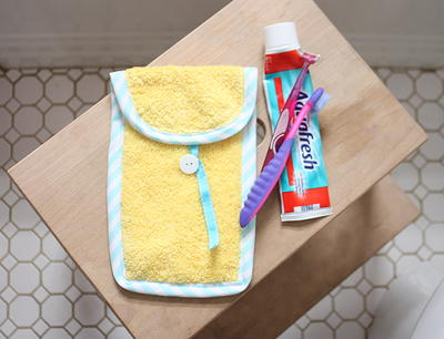 Toothbrush Travel Case Tutorial