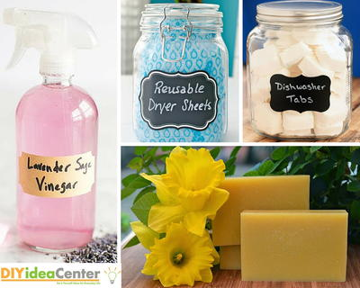 Natural  Effective 54 Homemade Cleaners