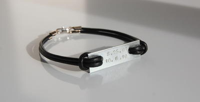 Hardware Stamped Metal DIY Bracelet