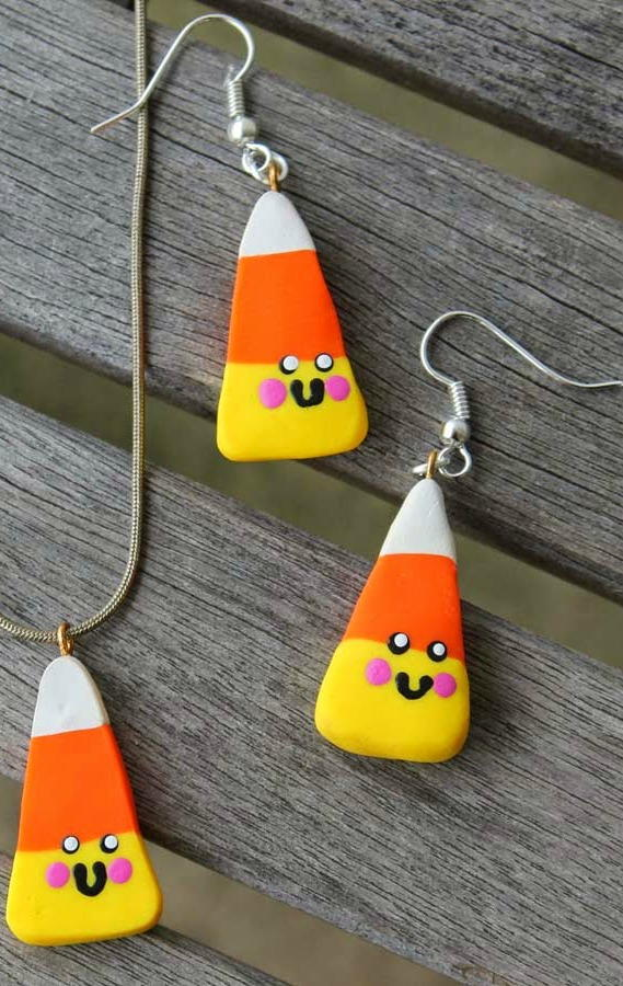 Kawaii Clay Candy DIY Earrings