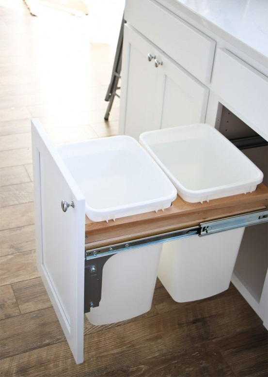 How To Install A Pull Out Garbage Bin Diyideacenter Com