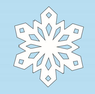 How to Make Paper Snowflakes | AllFreeChristmasCrafts com