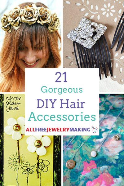 21 Gorgeous DIY Hair Accessories