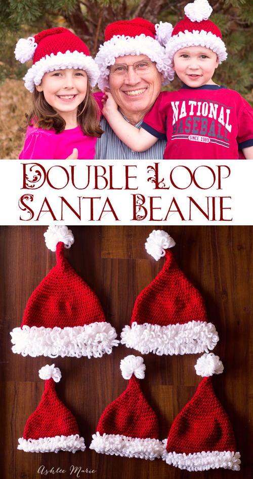 Bearded Santa Beanie Crochet Pattern Allfreecrochet
