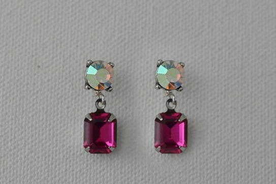 Dazzling Gemstone Drop Earrings