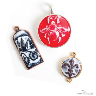 How to Make Sculpted Relief Clay Pendants