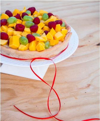 Color Burst Fresh Fruit Pie