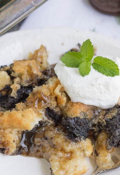 Oreo Cookie Dump Cobbler Favesouthernrecipes Com