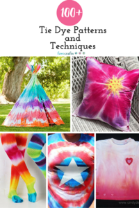 100+ Tie Dye Patterns and Techniques