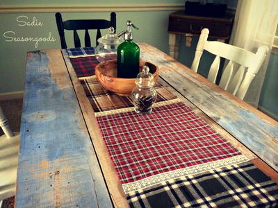 Fall Table Runner Easy Craft Idea