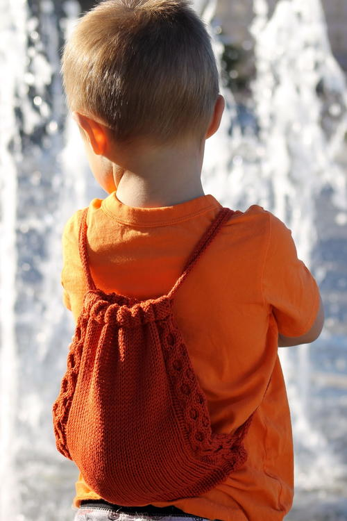 Treasure Knitted Backpack Pattern