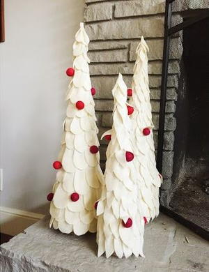 A Christmas Tree Idea Like This Would Be Perfect Addition To Your Home Decor Without Pine Trees Becoming The Dominant In Living Room