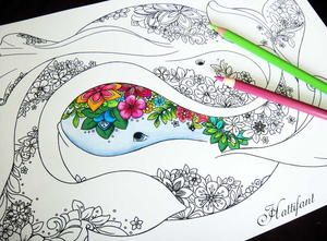 Amazing Ocean Coloring Pages